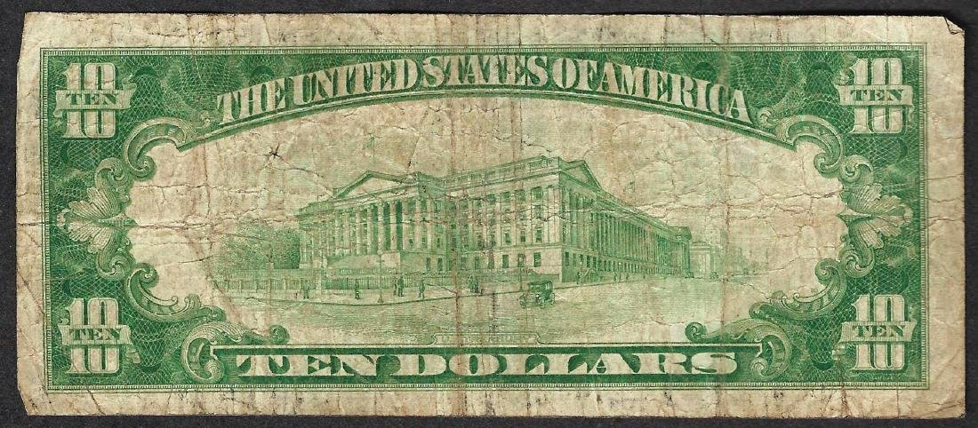 1928 $10 Federal Reserve STAR Note - 2