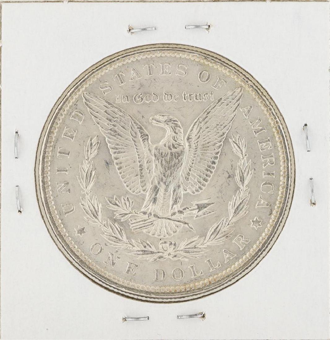 1899 $1 Morgan Silver Dollar Coin - 2