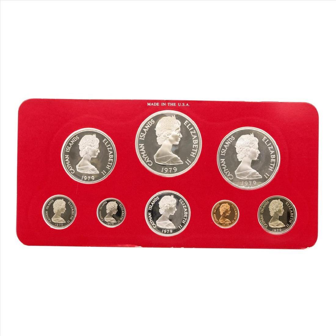 1979 Cayman Islands Proof Set Franklin Mint