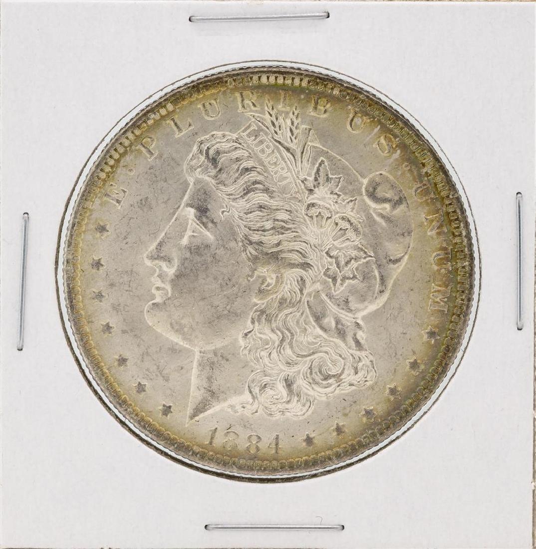 1884-O $1 Morgan Silver Dollar Coin Great Toning