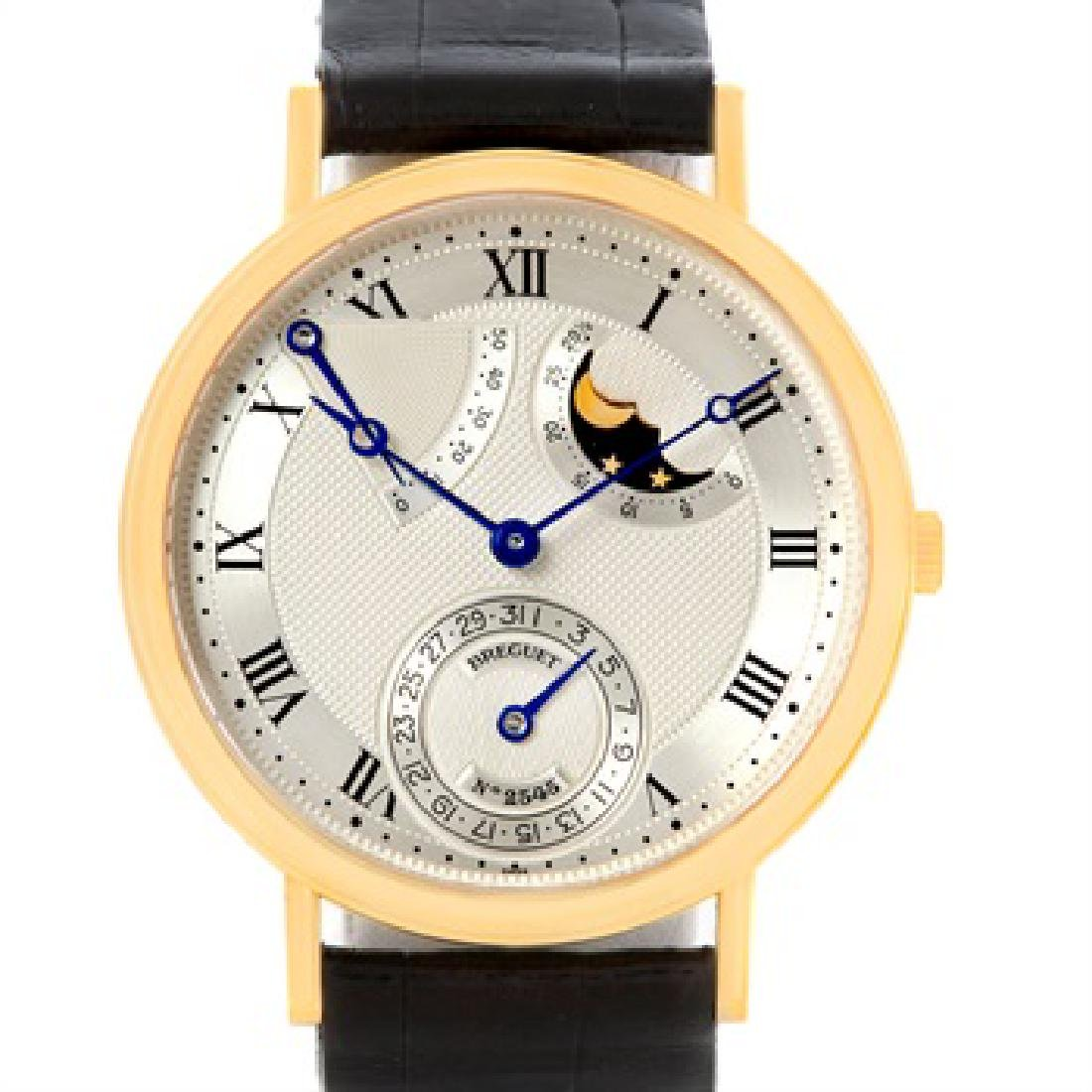 Breguet Classique Power Reserve 18K Yellow Gold Watch