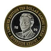 .999 Silver Riverside Resort Casino Laughlin, NV $10