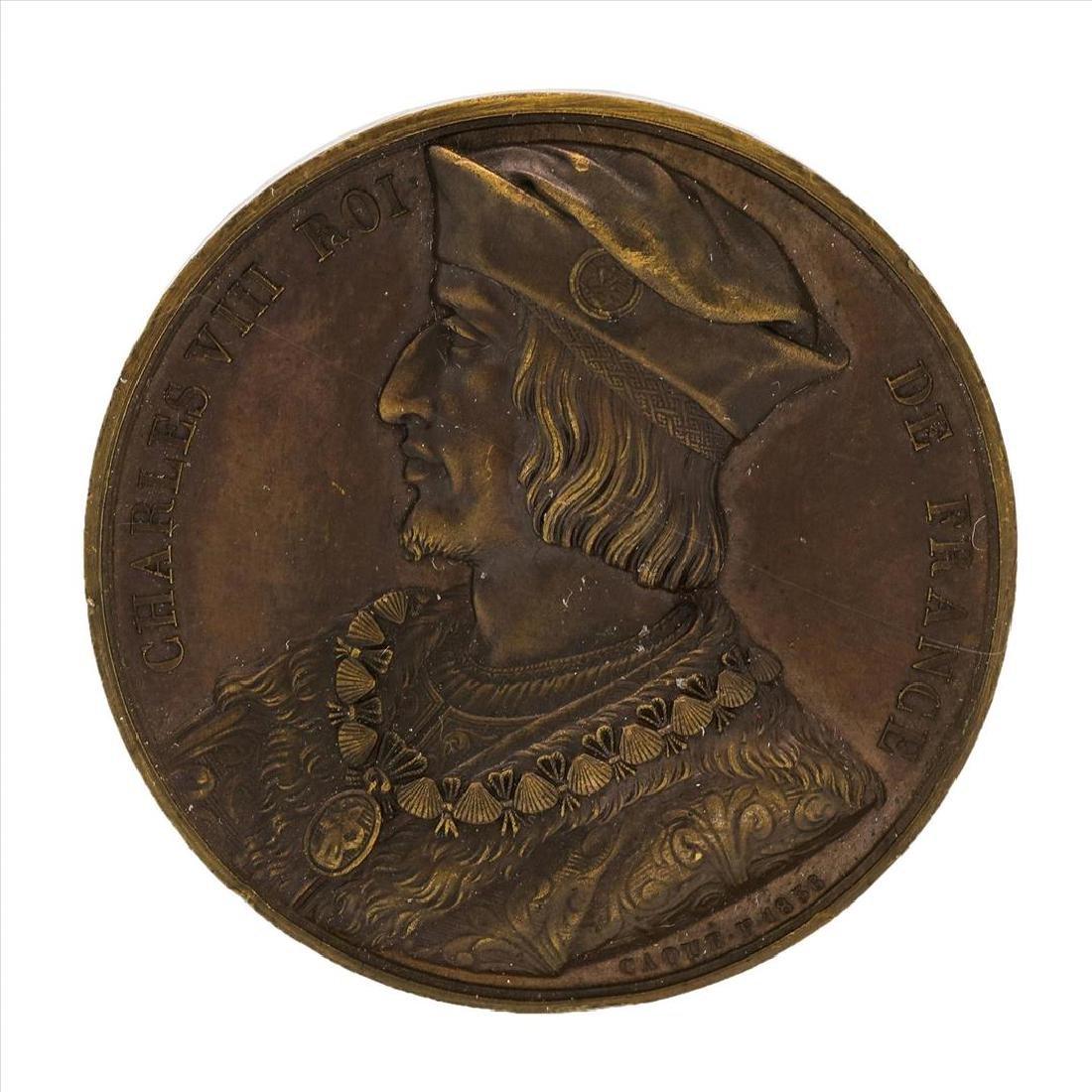 1498 France Charles VIII Medal