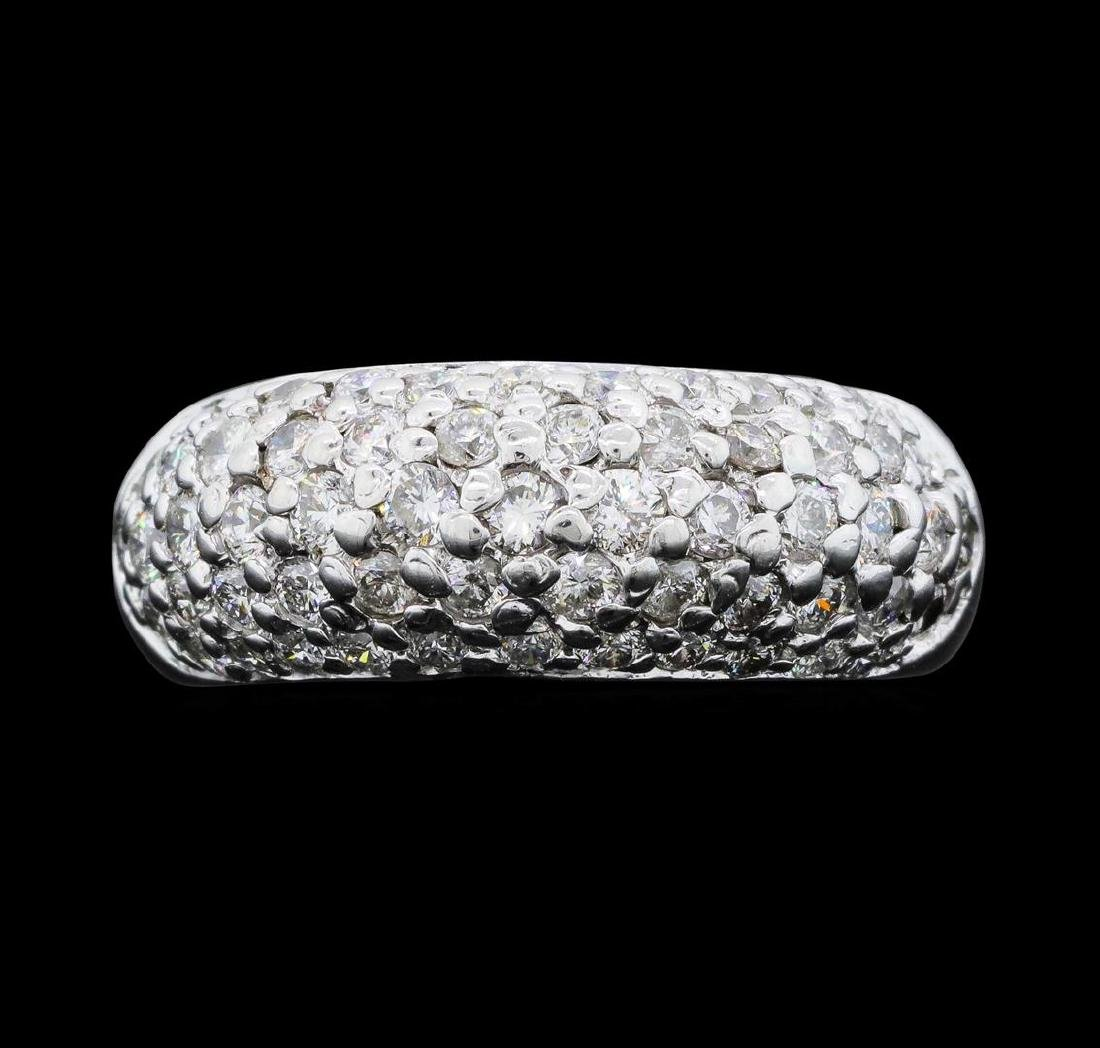 14KT White Gold Ladies 1.00 ctw Diamond Ring
