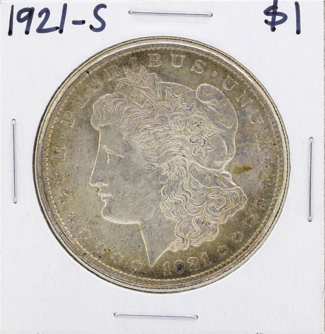 1921-S $1 Morgan Silver Dollar Coin