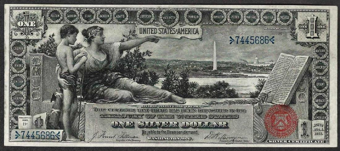 1896 $1 Educational Silver Note