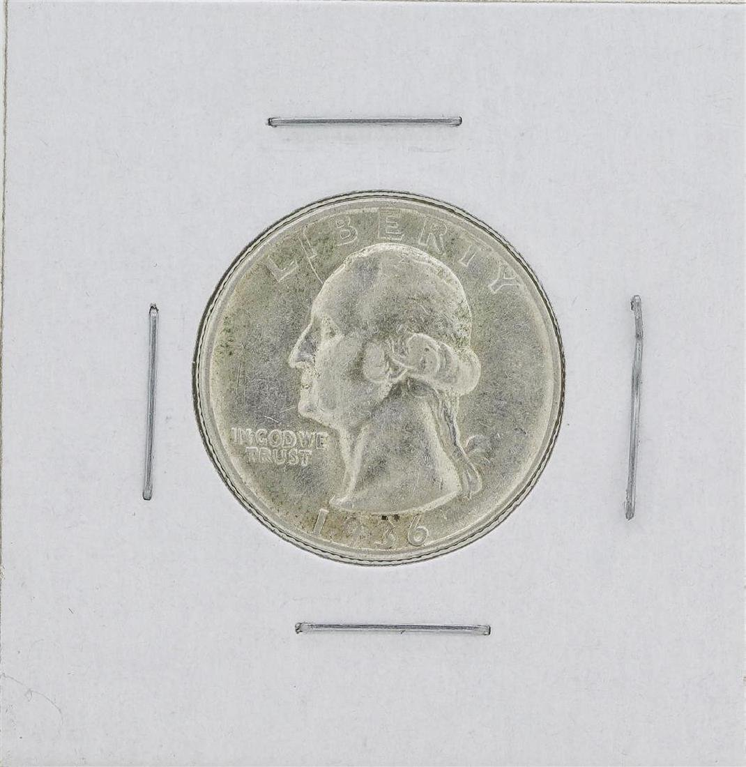 1936-D Washington Quarter Silver Coin
