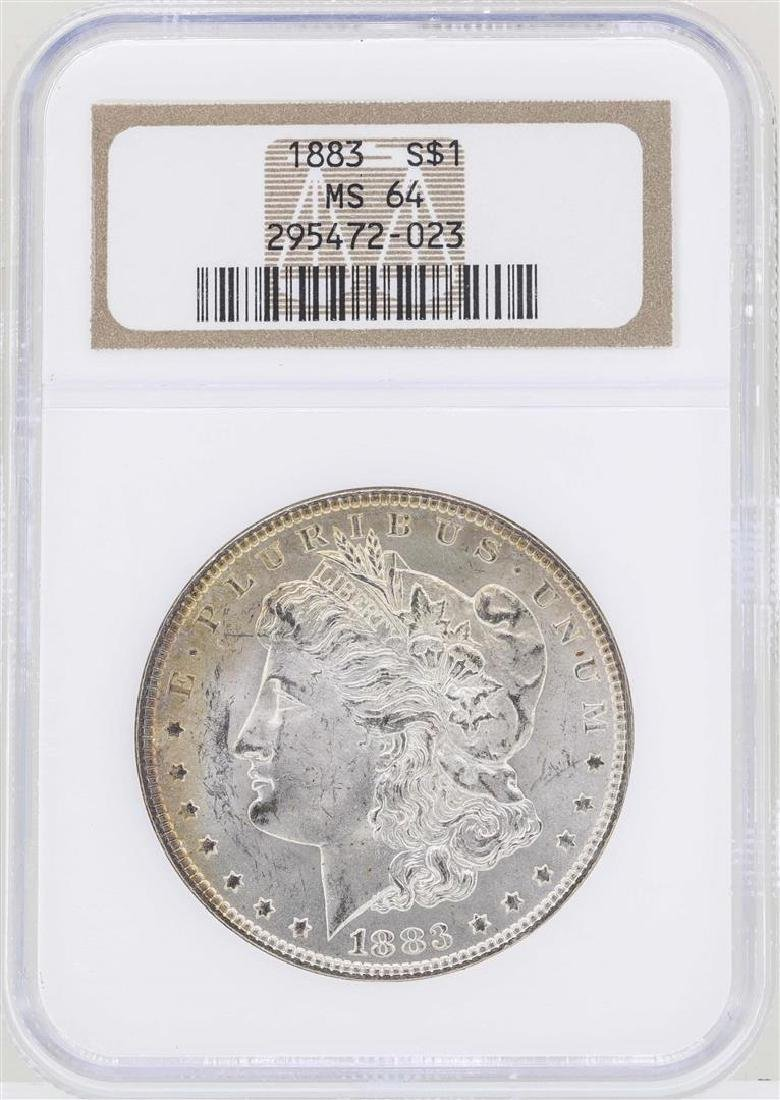 1883 $1 Morgan Silver Dollar Coin NGC MS62