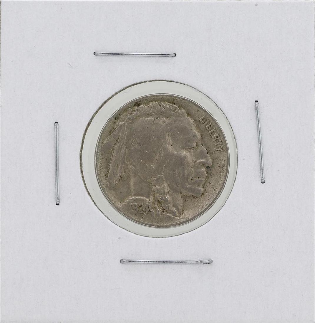 1924-D Buffalo Nickel Coin