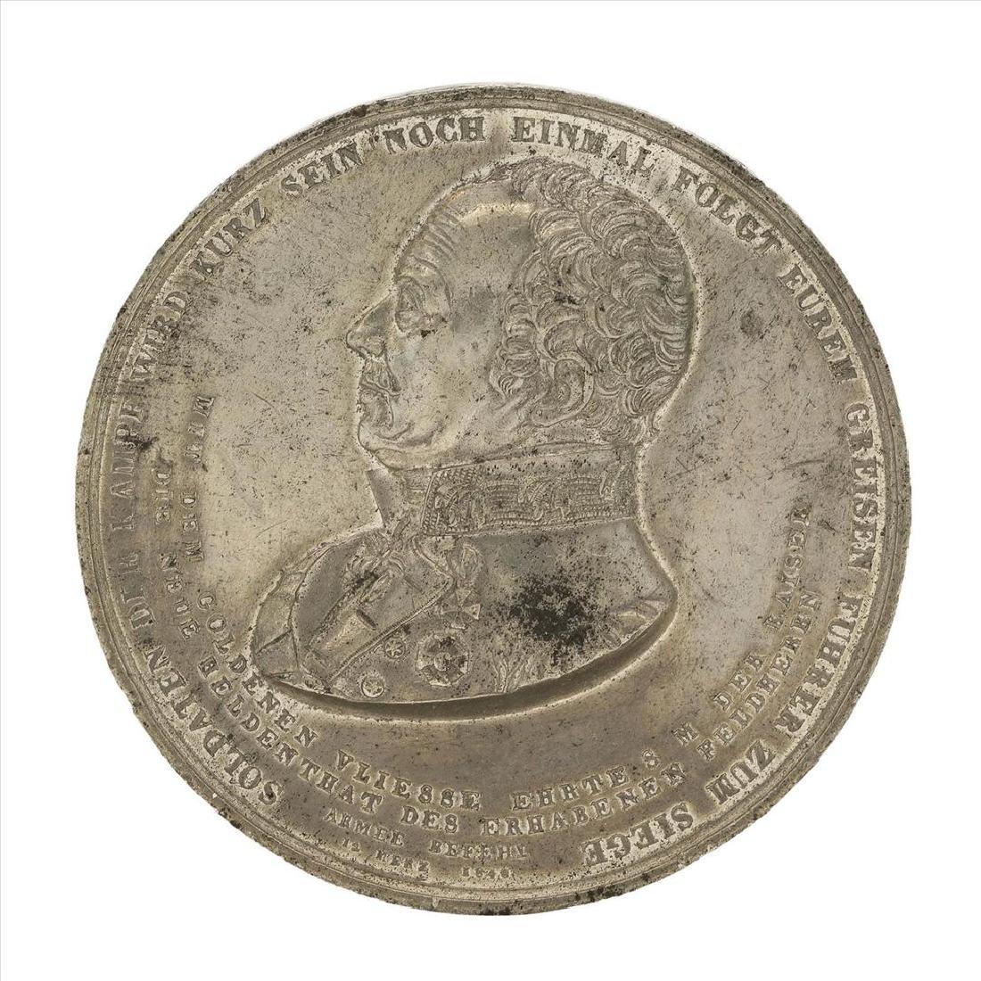 1849 Austria Golden Fleece Award Medal