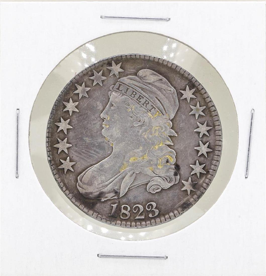 1823 Capped Bust Half Dollar Coin