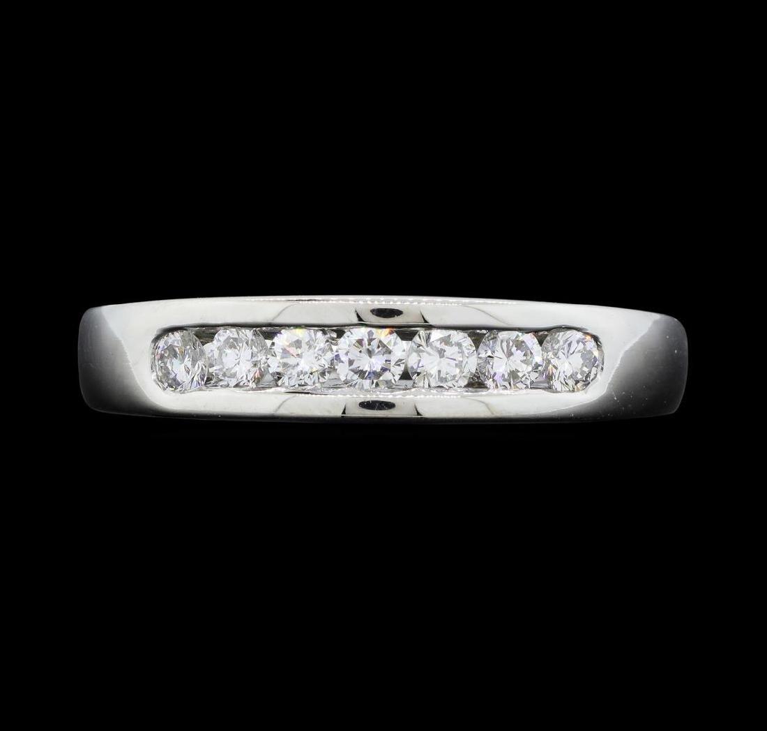Platinum Ladies 0.50 ctw Diamond Ring
