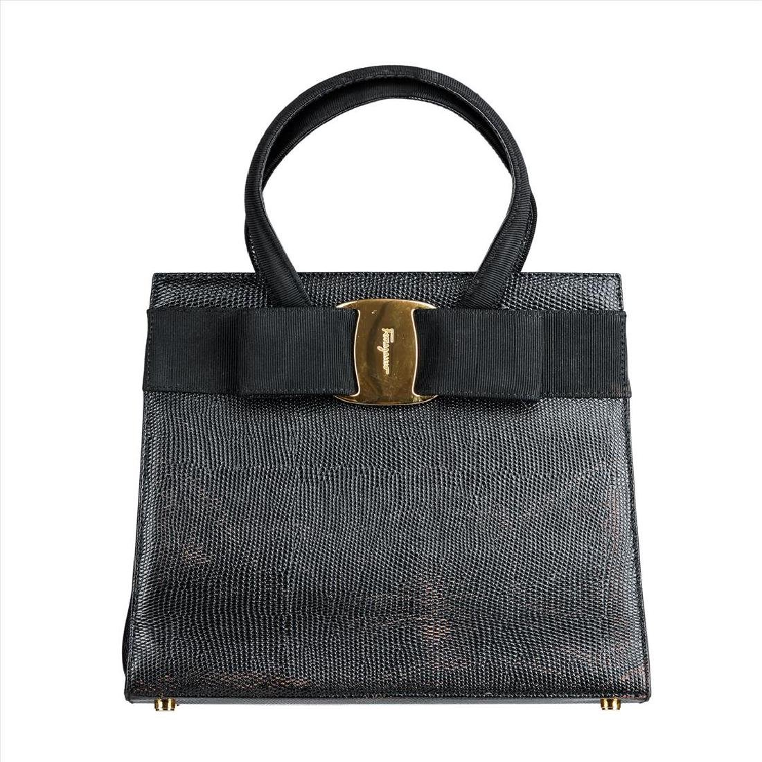 Salvatore Ferragamo Vara Ribbon Handbag