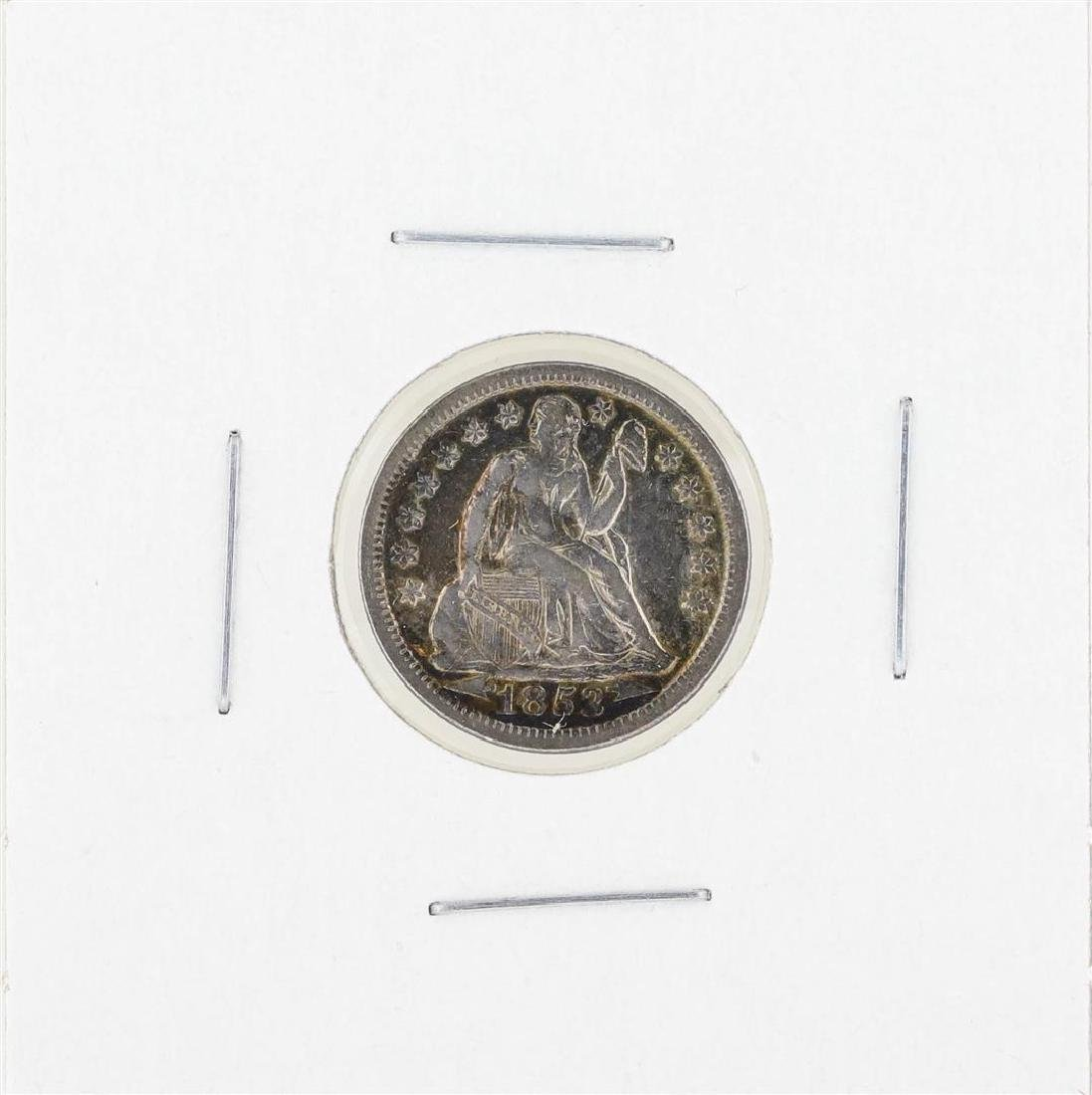 1853 Seated Dime Coin