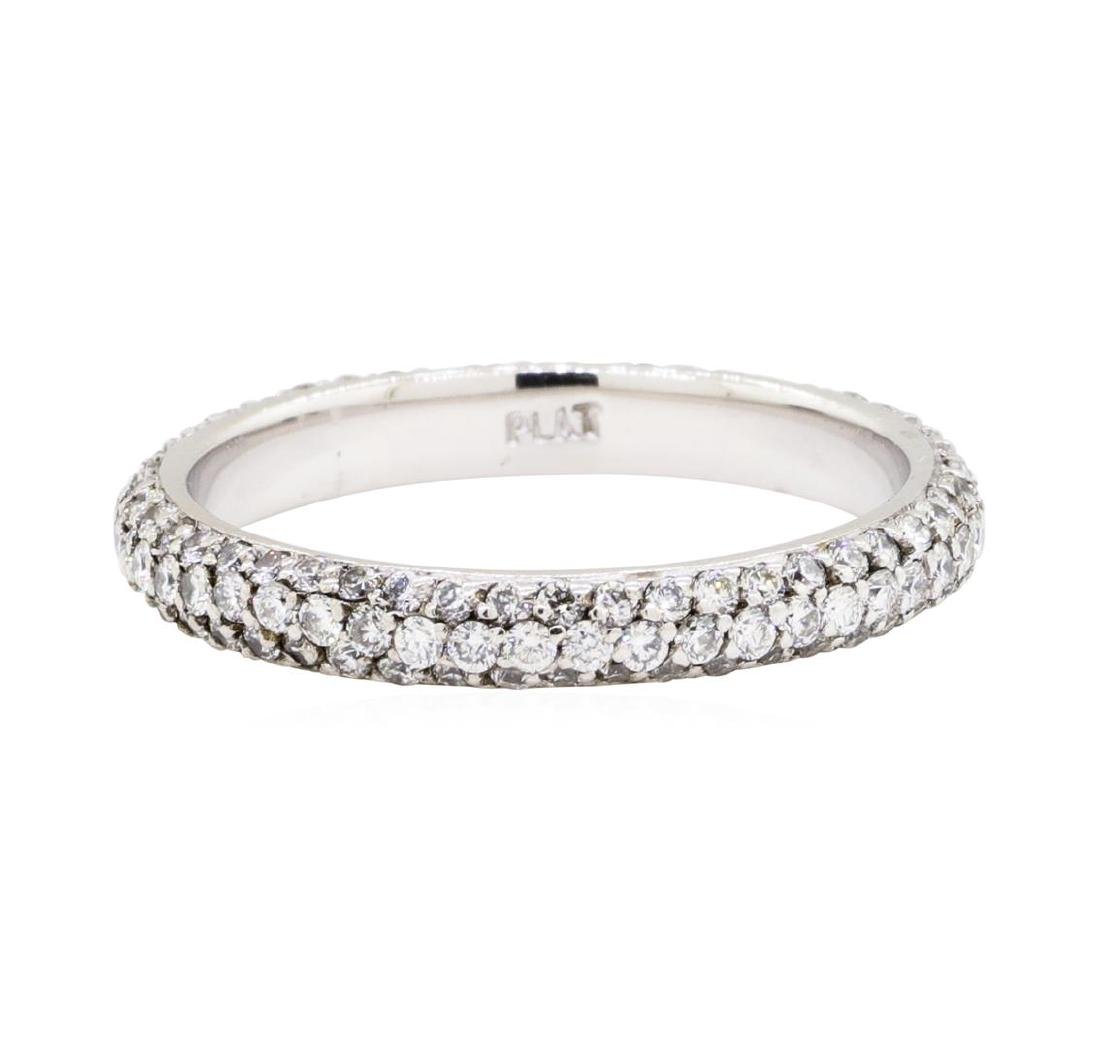 Platinum 1.00 ctw Diamond Eternity Band