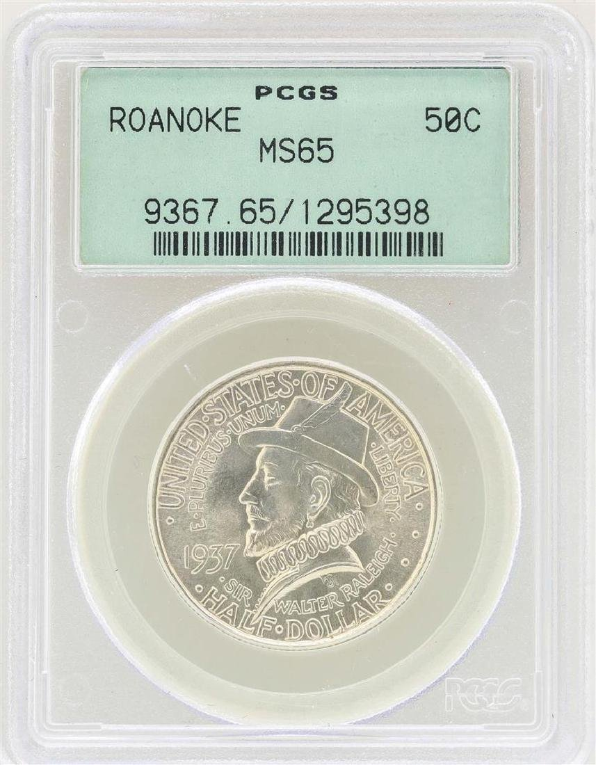 1937 Roanoke Island North Carolina Commemorative Half