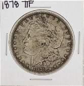 1878 7TF 1 Morgan Silver Dollar Coin