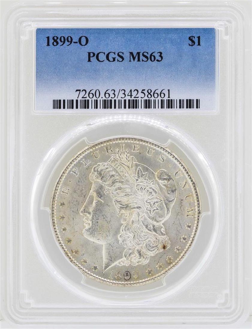 1899-O $1 Morgan Silver Dollar Coin PCGS MS63