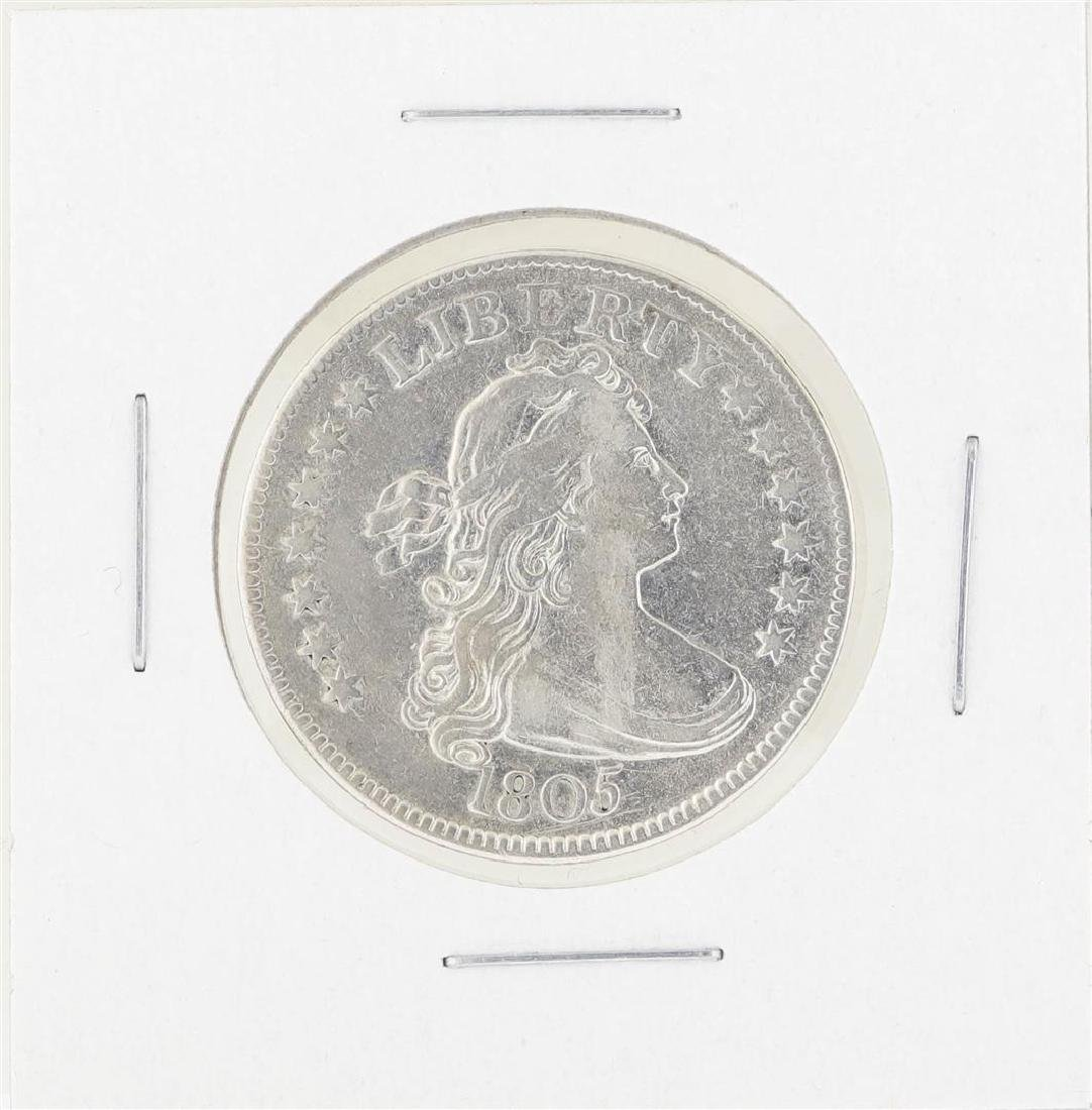 1805 Draped Bust Quarter Silver Coin