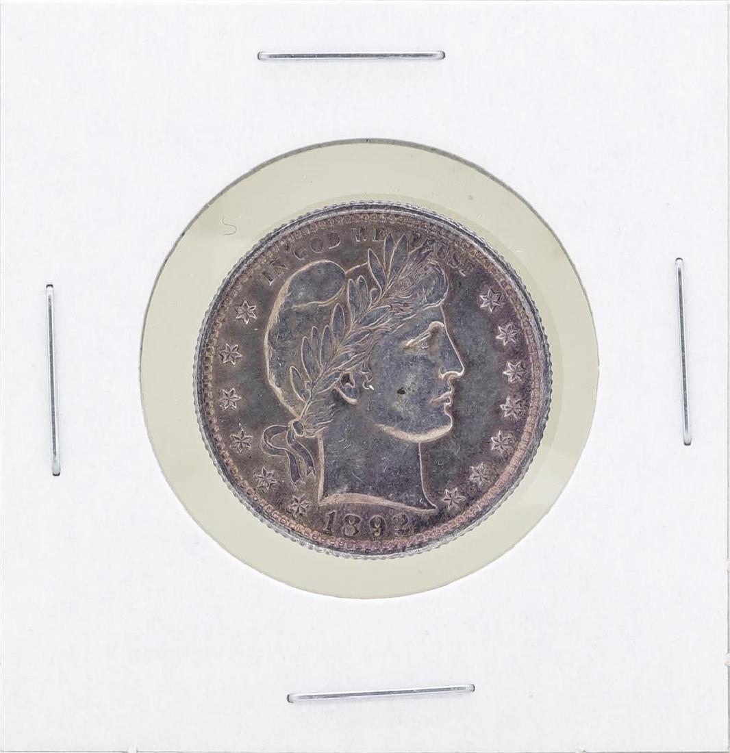 1892 Barber Silver Quarter Coin
