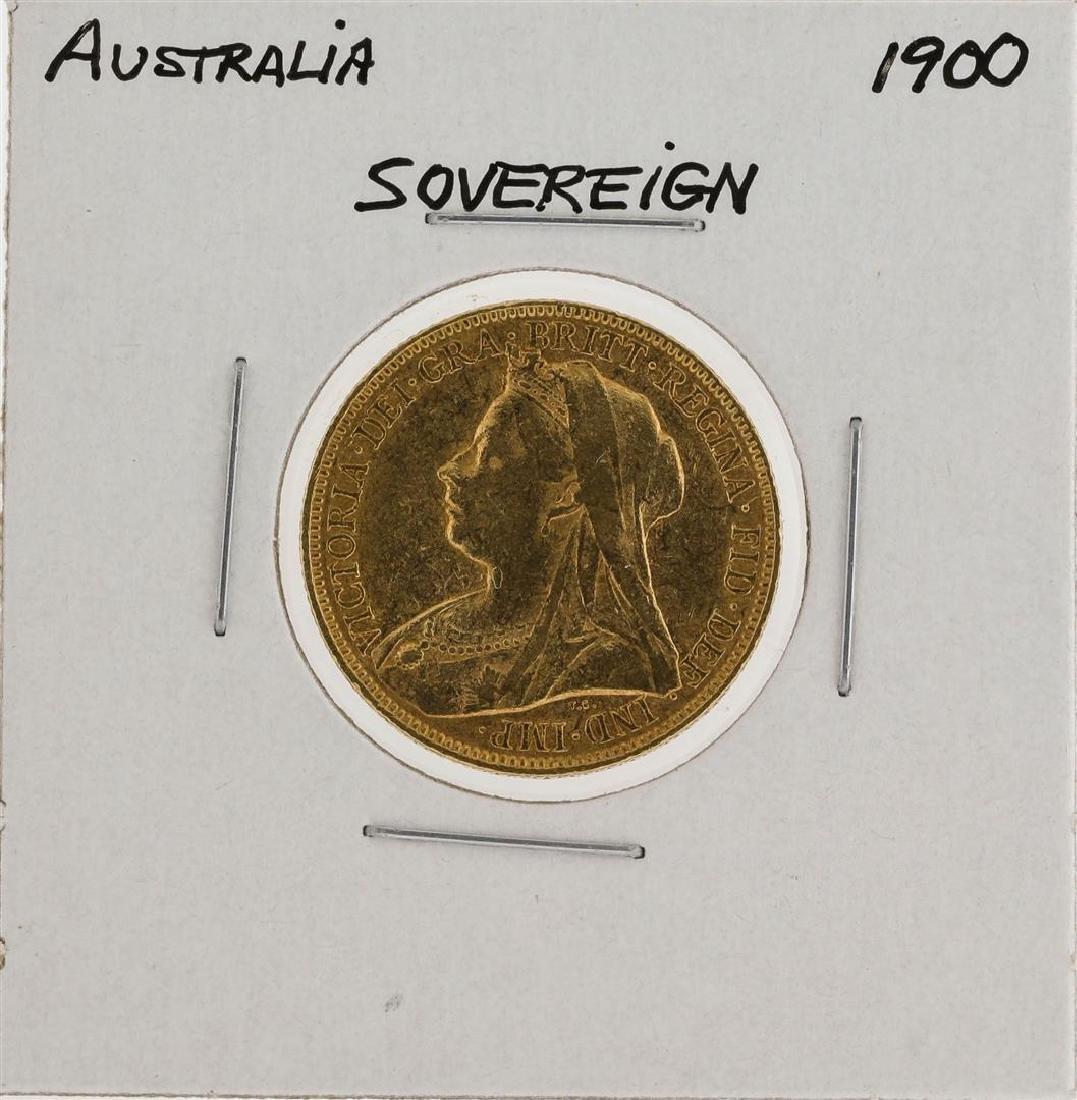 1900 Australia Sovereign Gold Coin