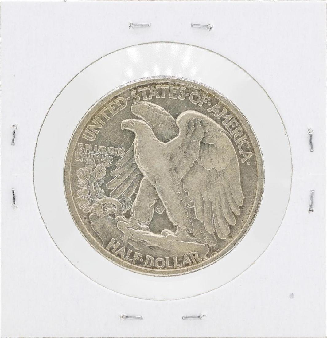 1919-S Walking Liberty Half Dollar Silver Coin - 2