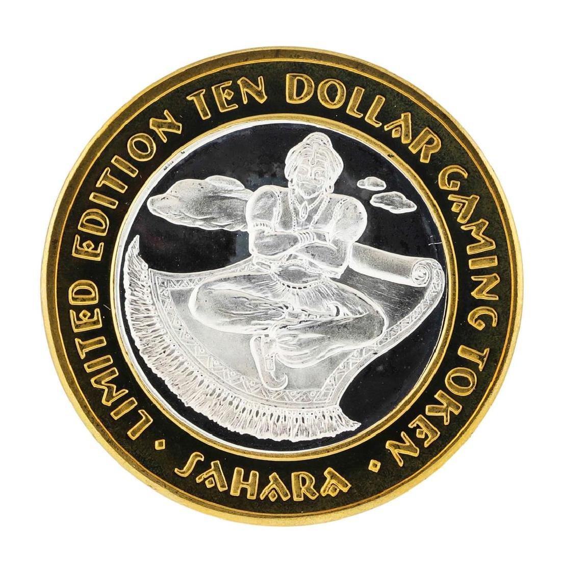 .999 Silver Sahara Las Vegas, Nevada $10 Casino Limited