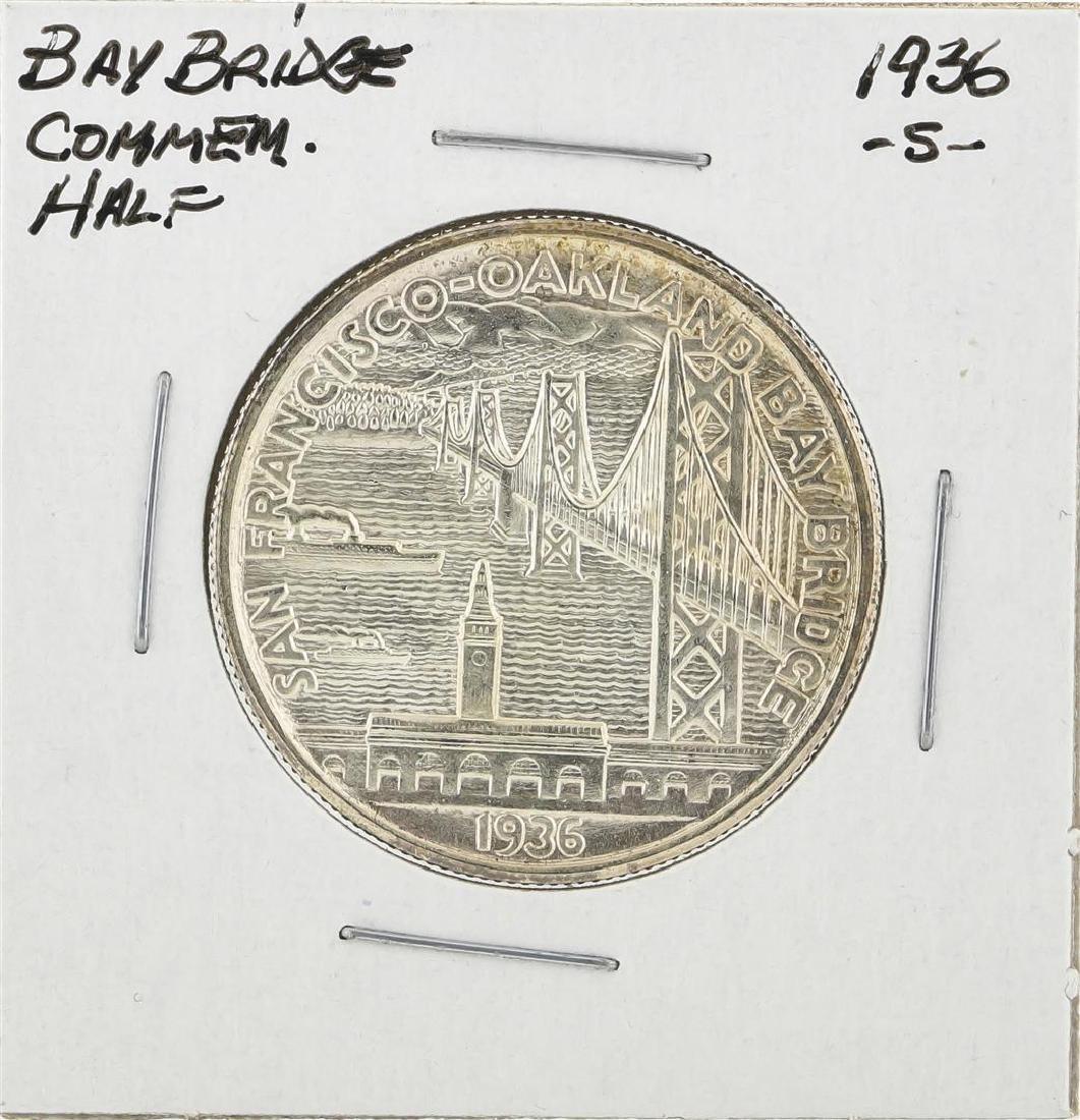 1936-S San Francisco - Oakland Bay Bridge Opening Half