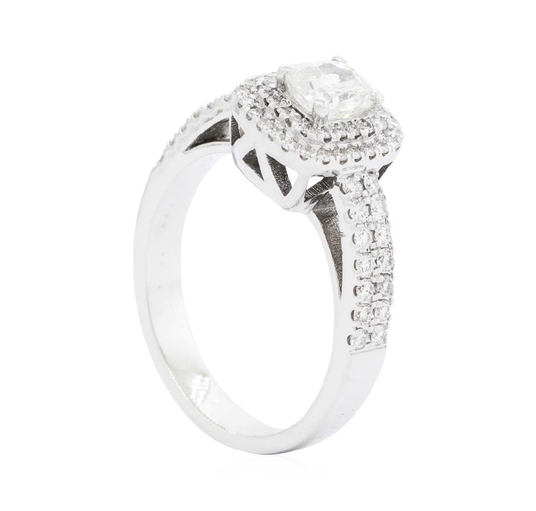 14KT White Gold 1.45 ctw Diamond Ring - 3
