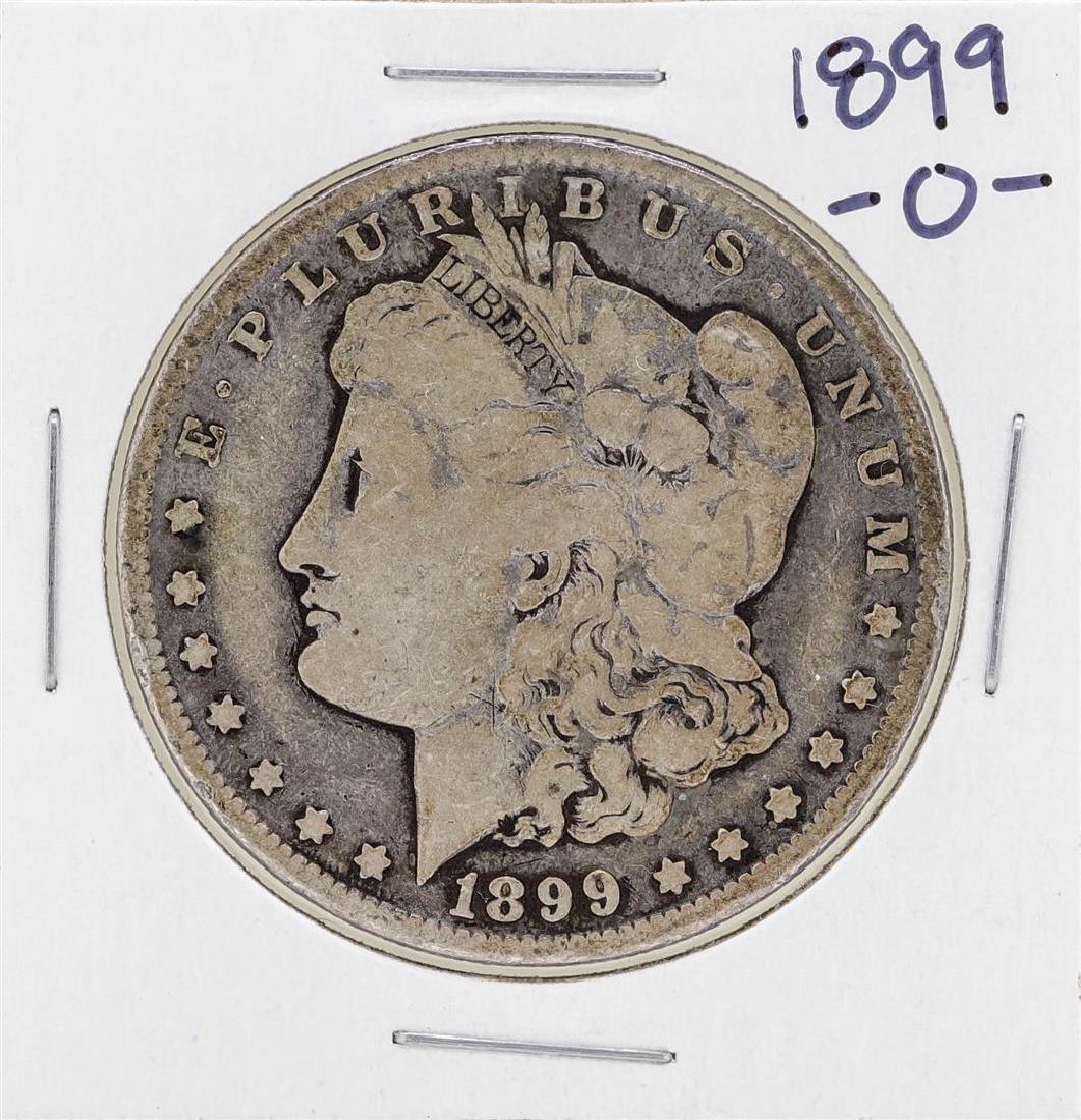 1899-O Micro O $1 Morgan Silver Dollar Coin