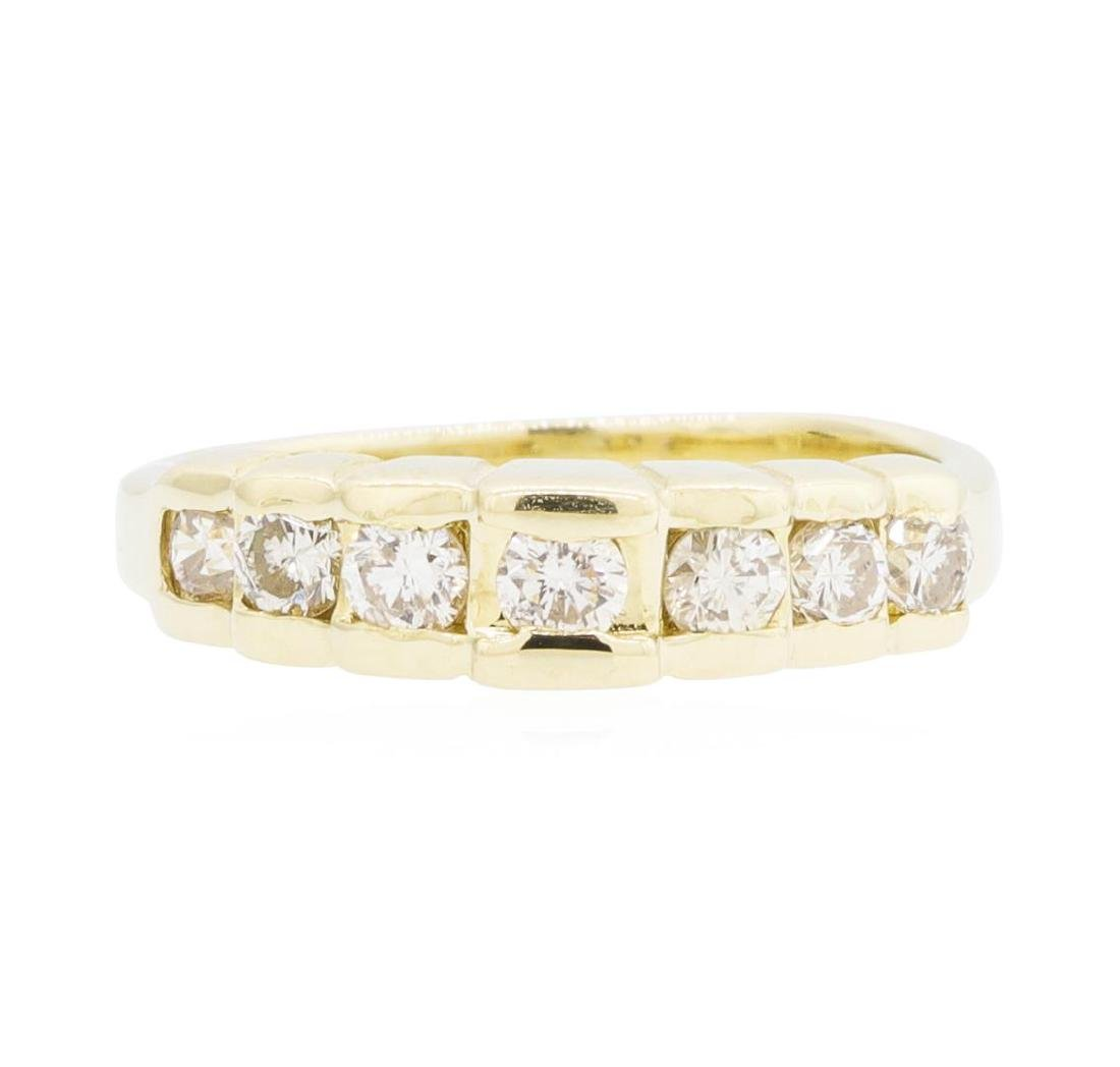 14KT Yellow Gold Lady's 0.42 ctw Diamond Ring