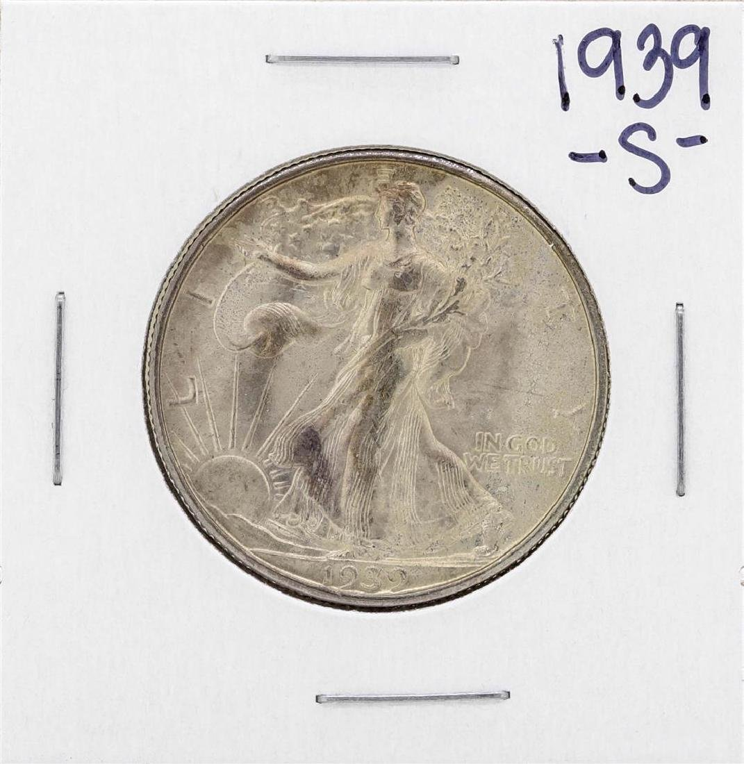 1939-S Walking Liberty Half Dollar Coin