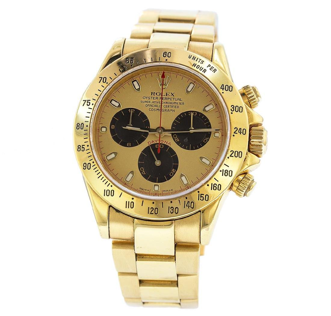 18KT Yellow Gold Rolex Daytona Paul Newman Chronograph