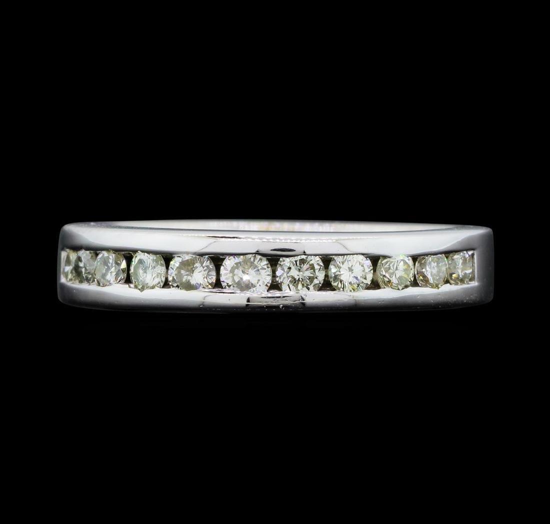 14KT White Gold Ladies 0.50 ctw Diamond Ring