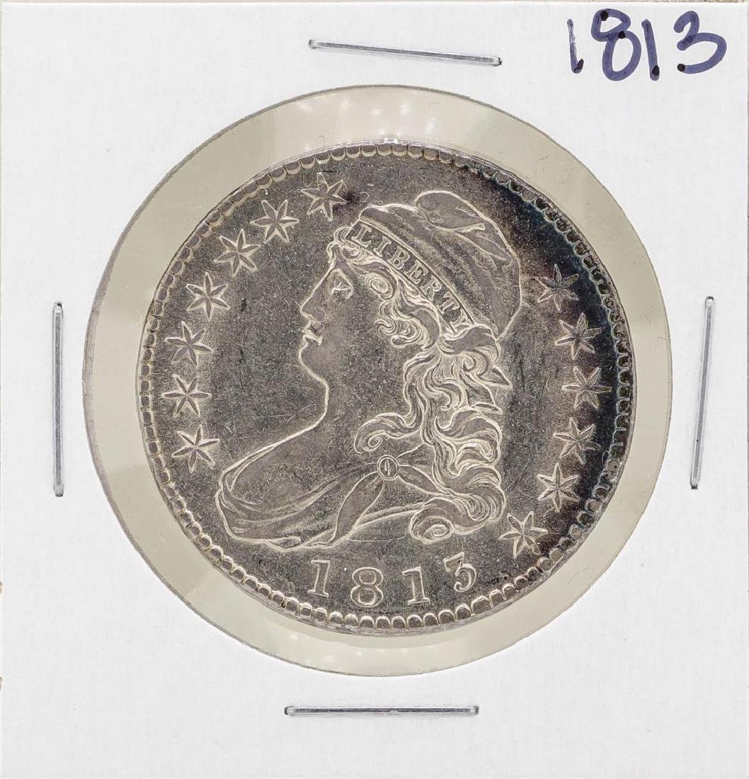 1813 Capped Bust Half Dollar Coin