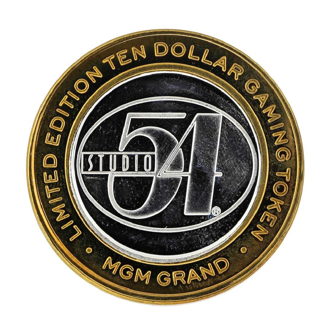.999 Silver MGM Grand Las Vegas $10 Casino Limited