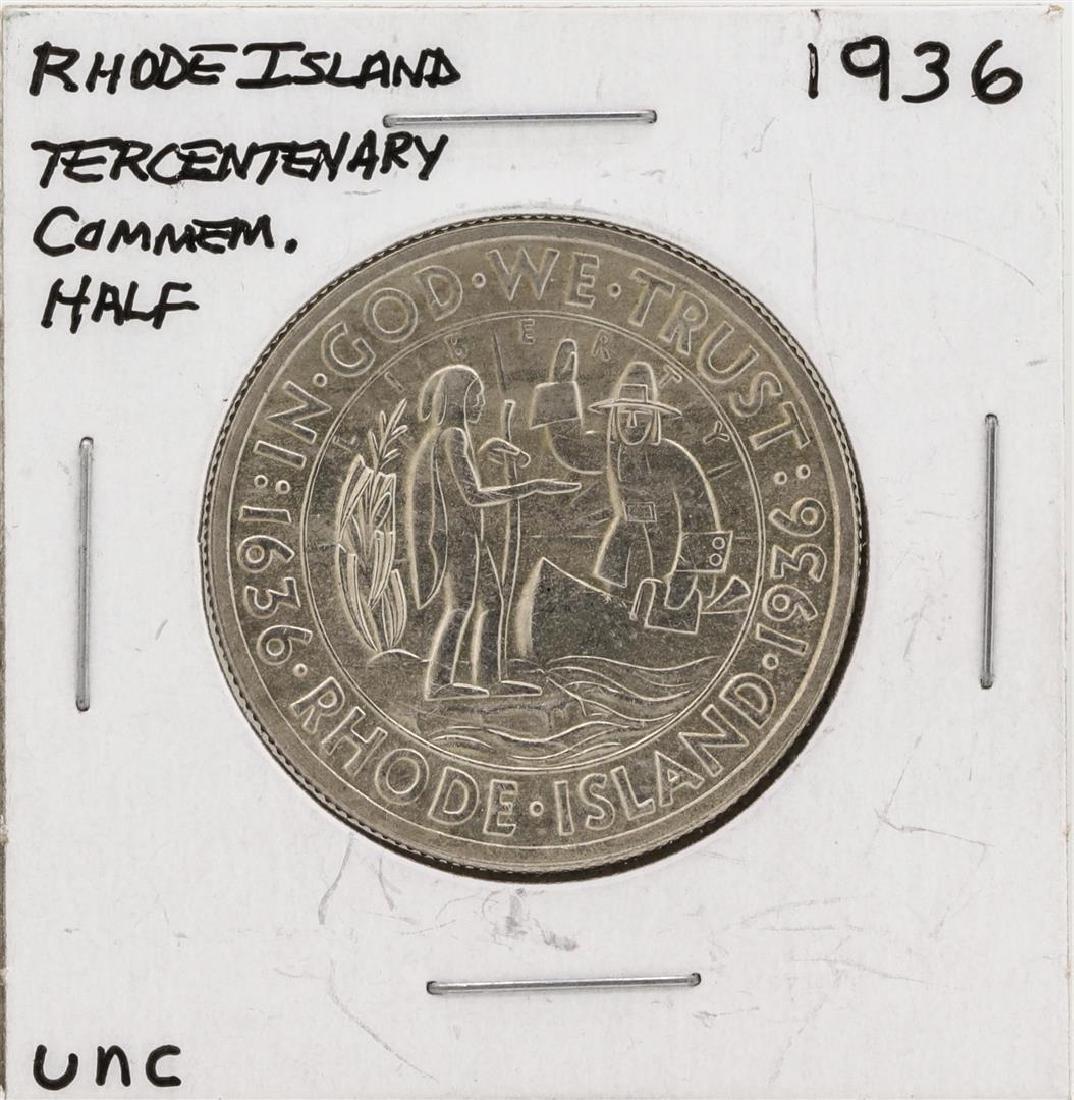 1936 Rhode Island Tercentenary Commemorative Half