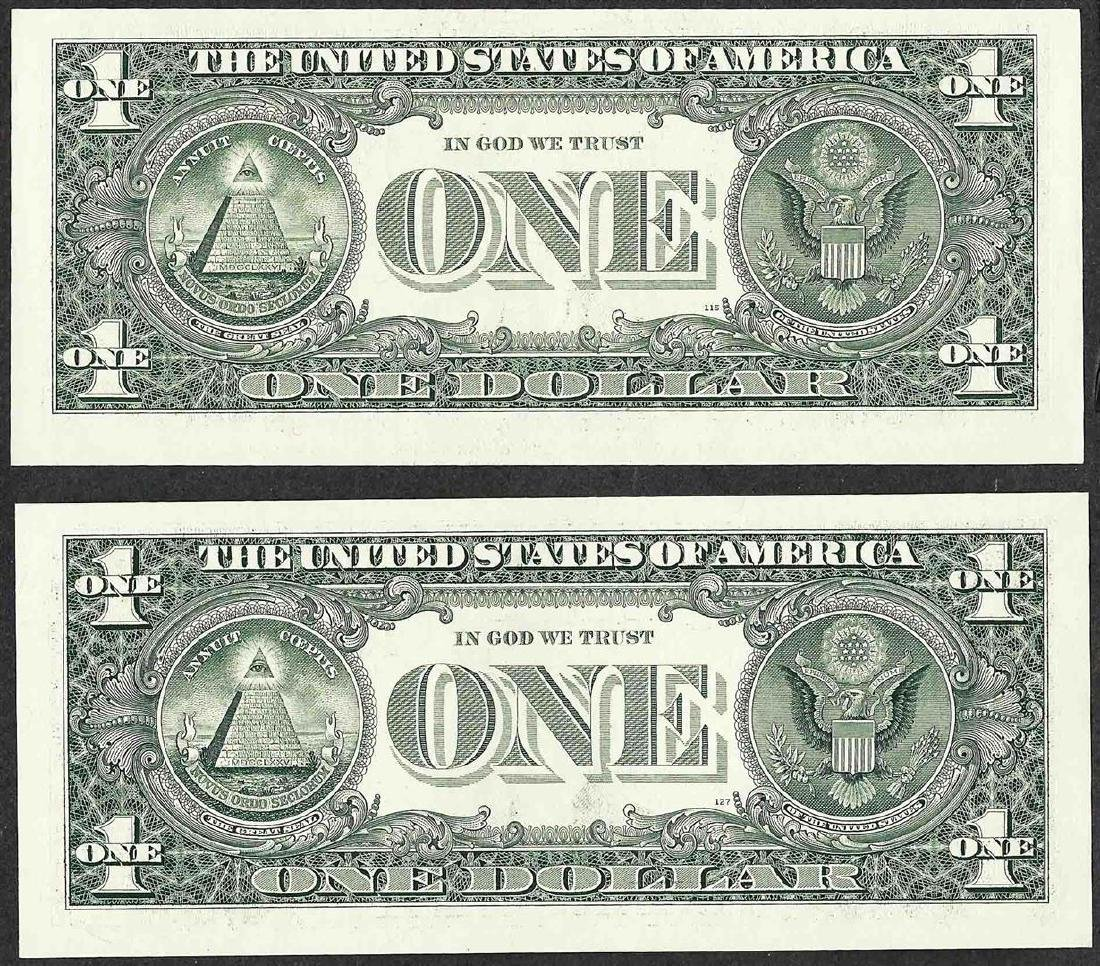 Lot of 2003 & 2006 $1 Federal Reserve Notes RADAR - 2