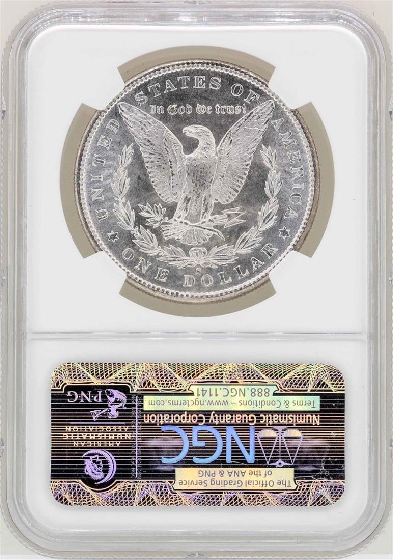 1880-S $1 Morgan Silver Dollar Coin NGC MS64 - 2