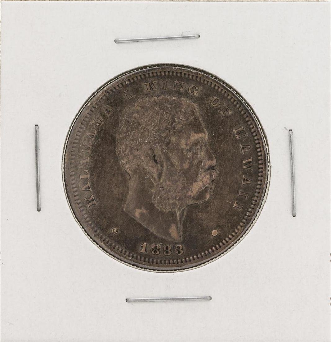 1883 Kingdom of Hawaii Half Dollar