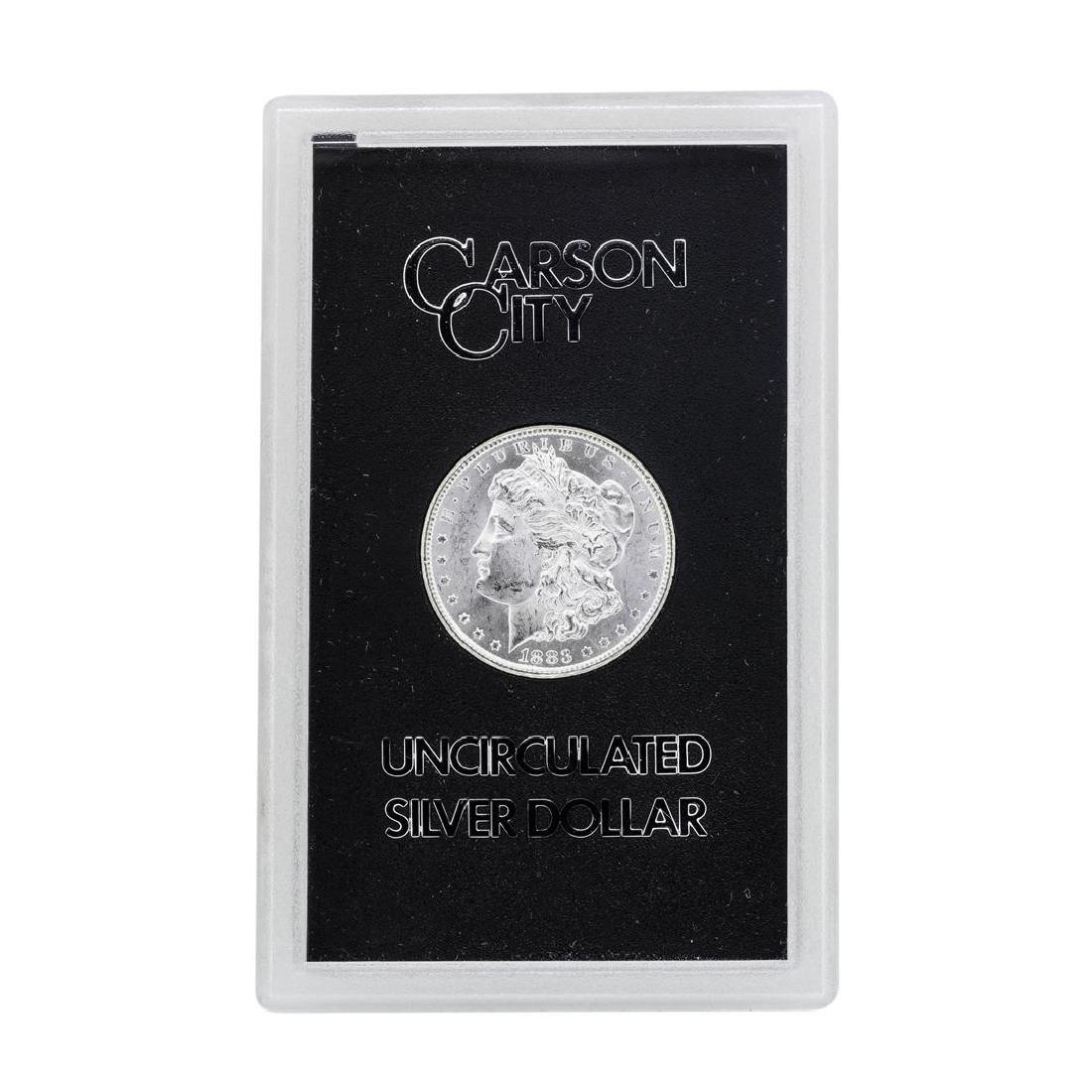 1883-CC $1 Morgan Silver Dollar Coin GSA w/ Box & COA