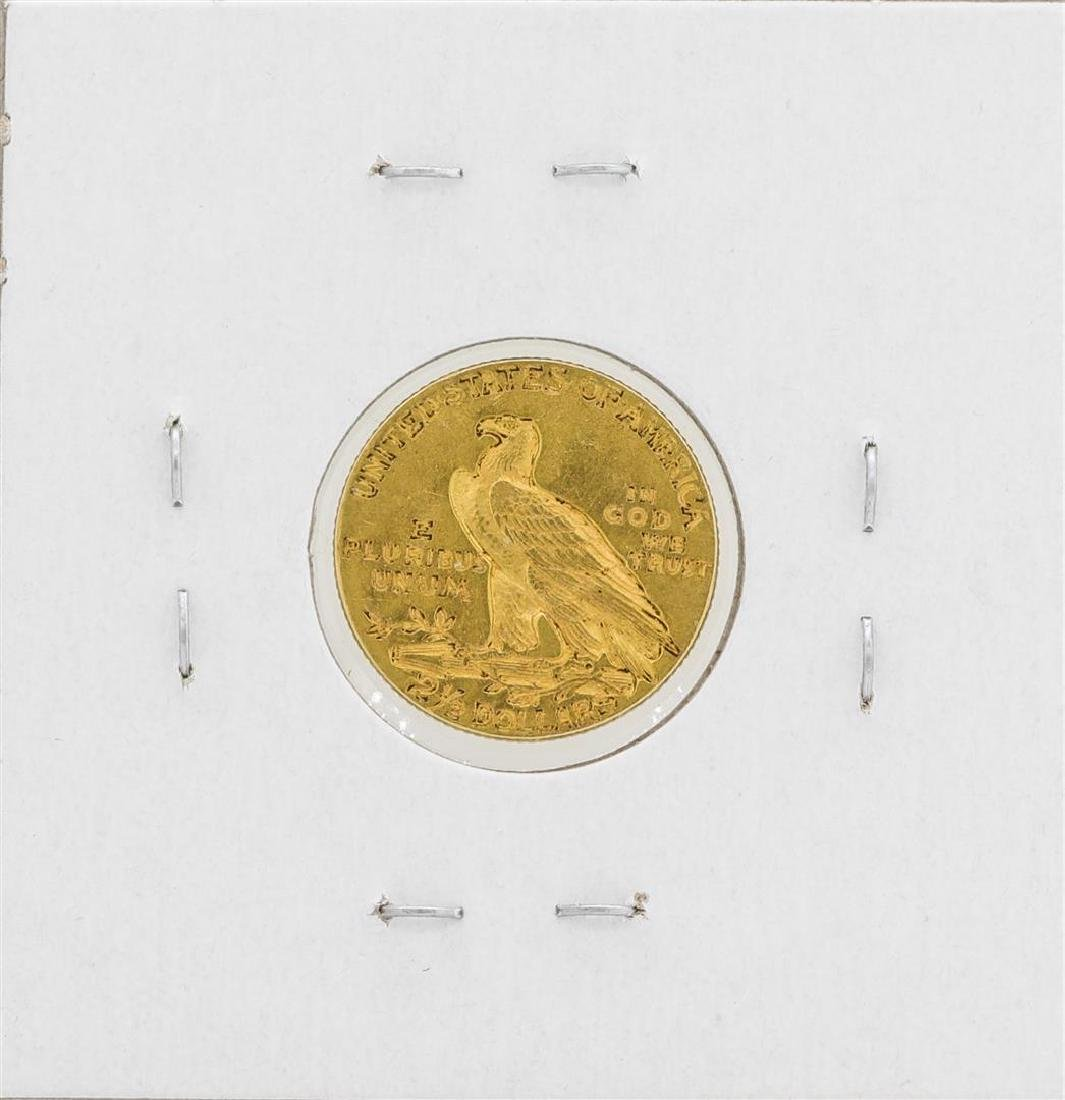 1909 $2 1/2 Indian Head Quarter Eagle Gold Coin - 2