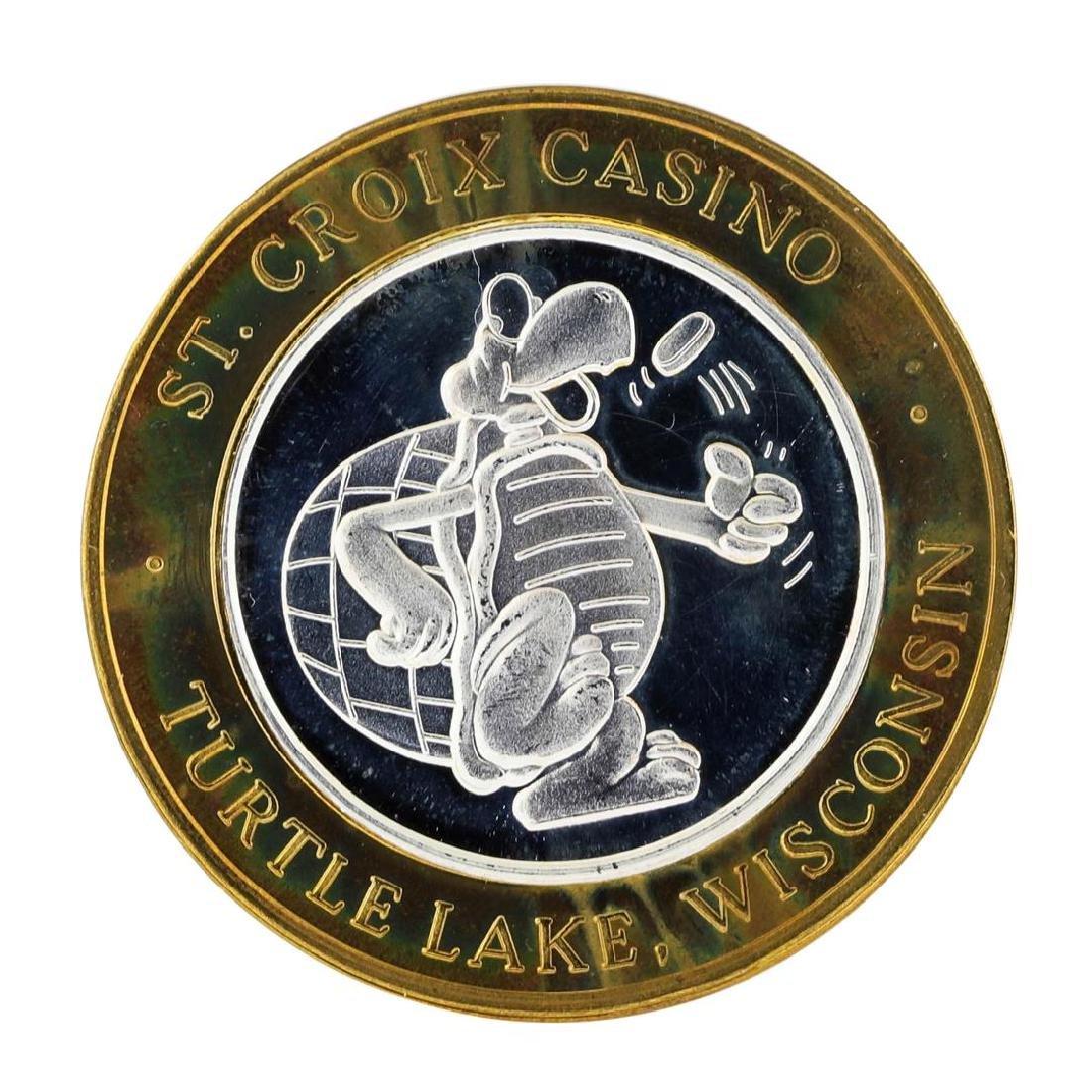 .999 Silver St. Croix Casino Turtle Lake, Wisconsin $10