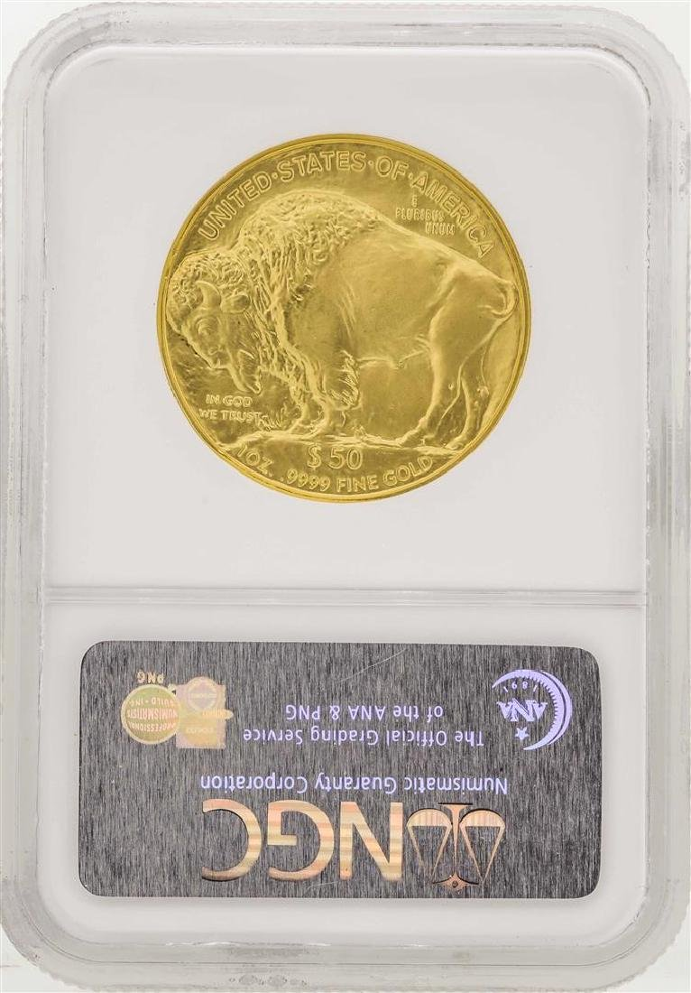 2006 $50 American Gold Buffalo Coin NGC MS70 First - 2