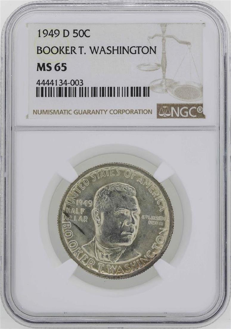 1949-D Booker T. Washington Memorial Half Dollar Coin