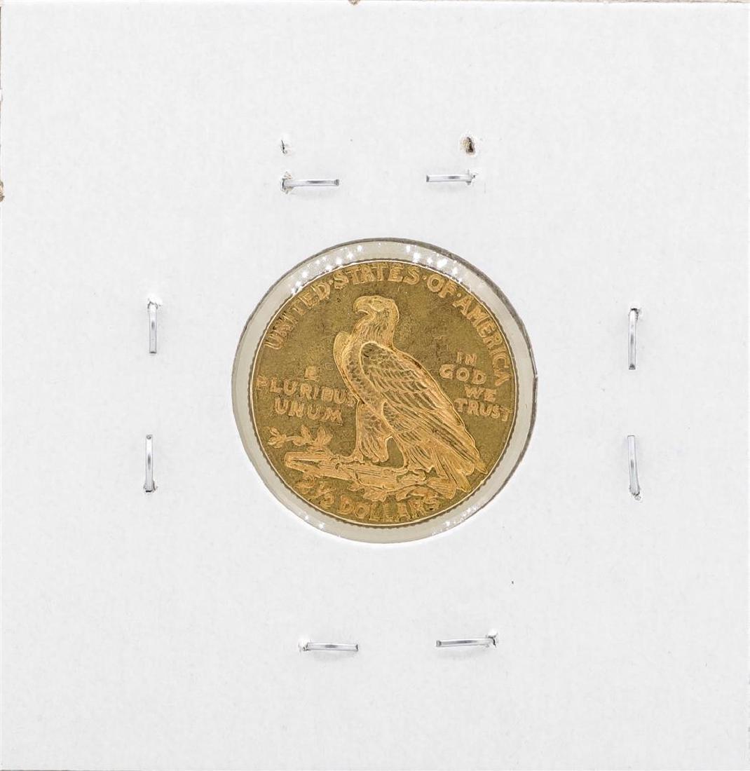 1913 $2 1/2 Indian Head Quarter Eagle Coin - 2
