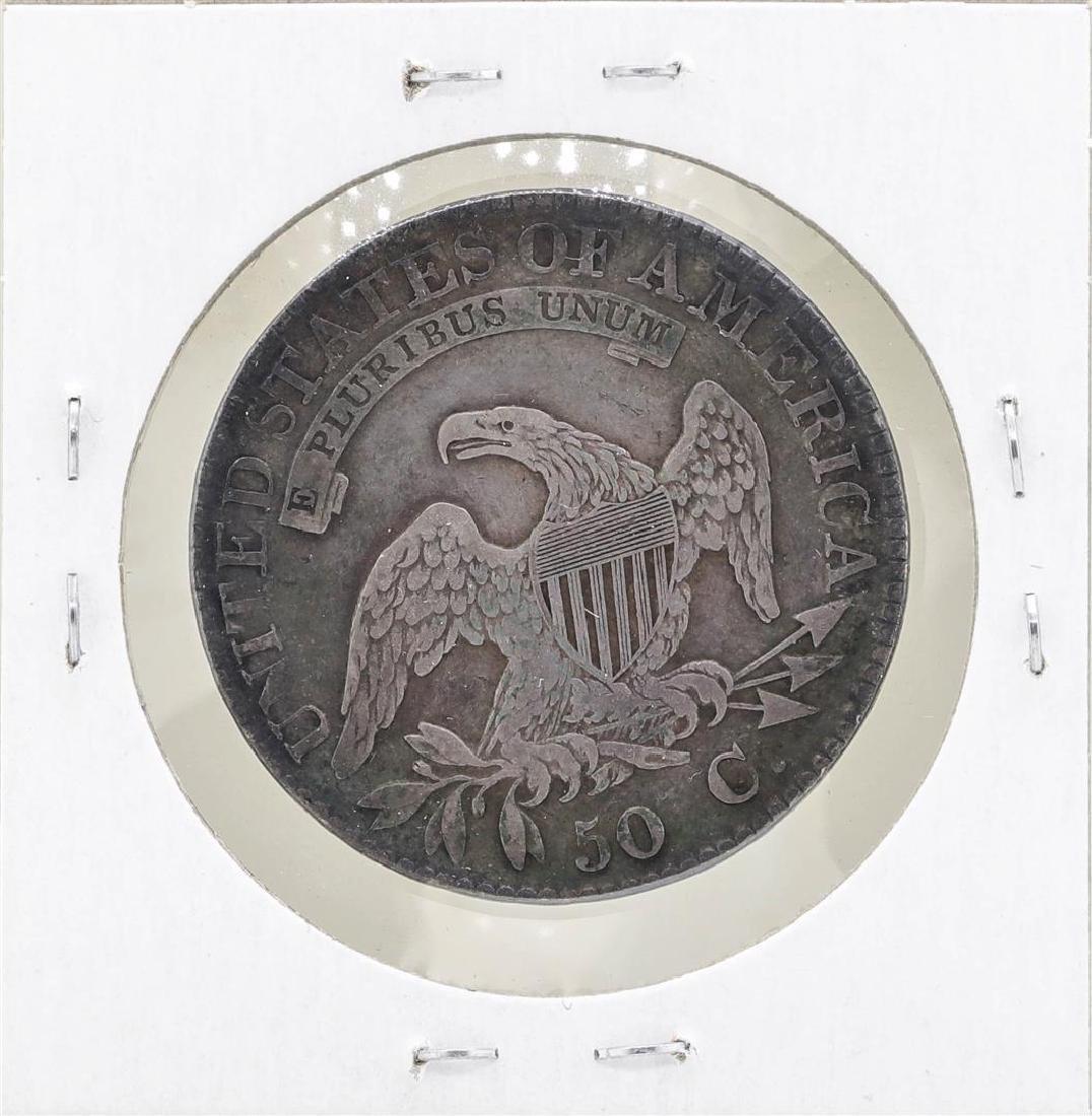 1823 Capped Bust Half Dollar Coin - 2