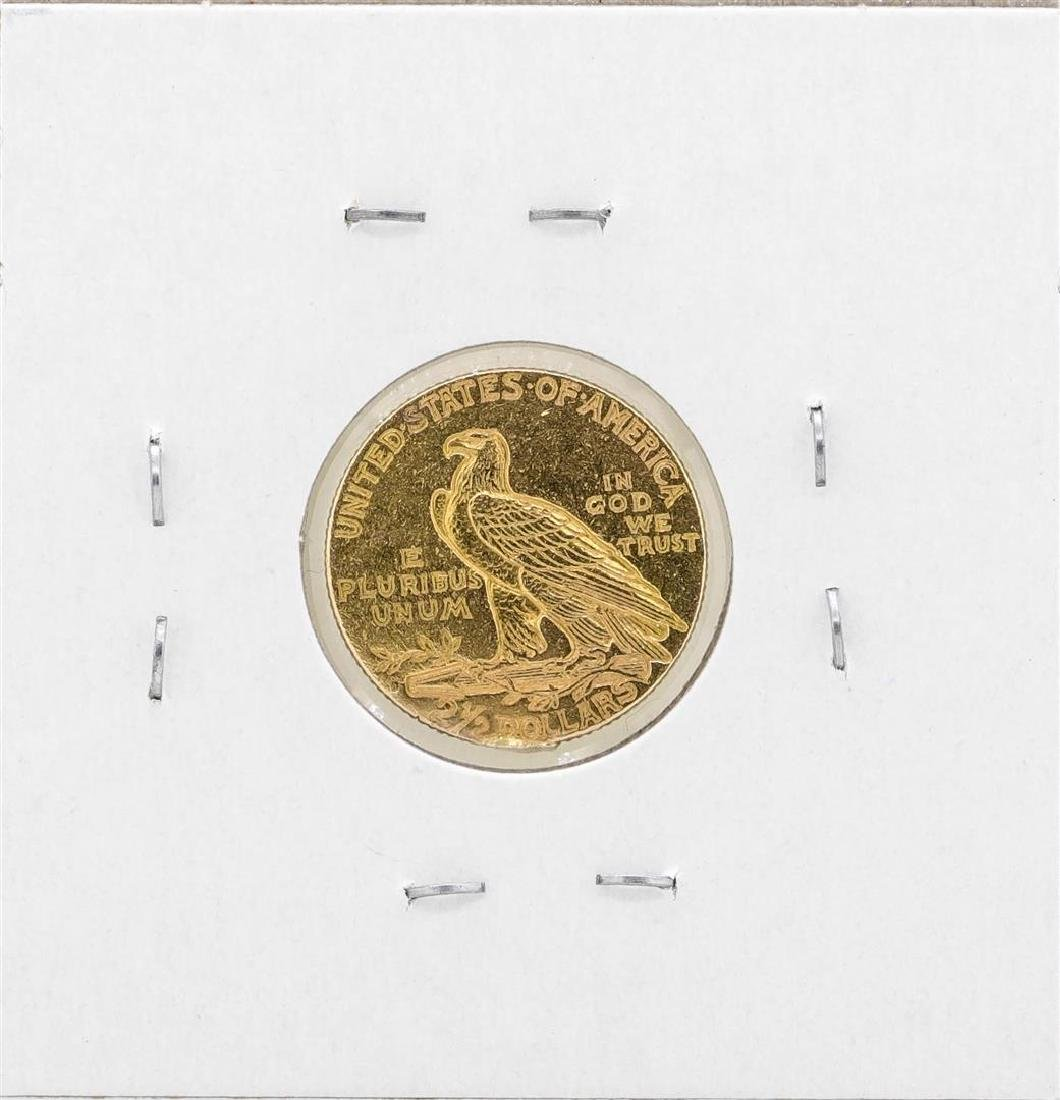 1925-D $2 1/2 Indian Head Quarter Eagle Gold Coin - 2