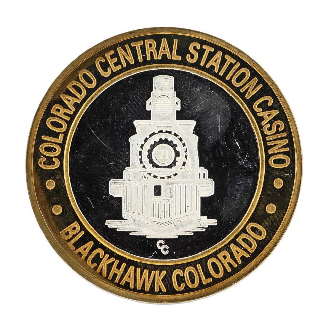 .999 Silver Colorado Central Station Casino $10 Casino