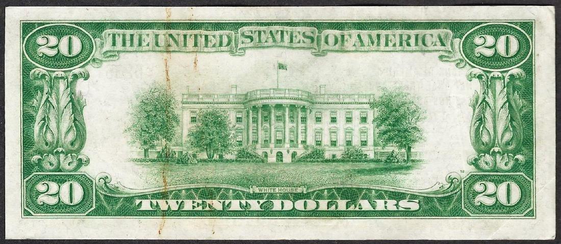 1929 $20 San Francisco California National Currency - 2